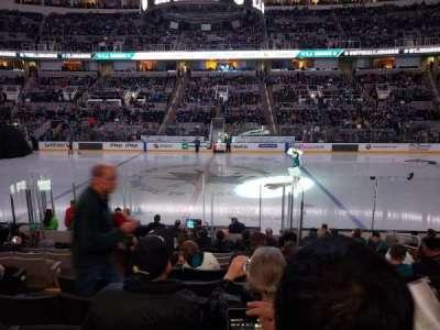 SAP Center at San Jose, section: 115, row: 15, seat: 8