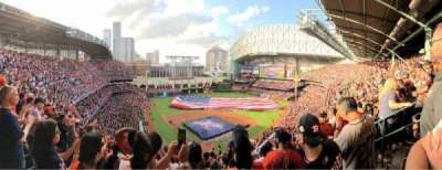 Minute Maid Park, section: 420, row: 15, seat: 8