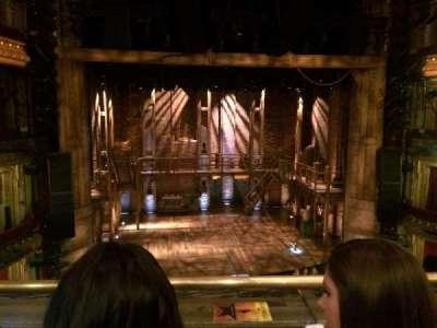 CIBC Theatre, section: Mezzanine LC, row: B, seat: 311