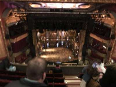CIBC Theatre, section: Balcony LC, row: M, seat: 413