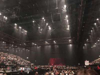 Genting Arena, section: 8, row: H, seat: 242