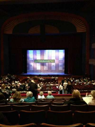 Ordway Center for the Performing Arts - Music Theater, section: Mezzanine, row: JJ, seat: 306