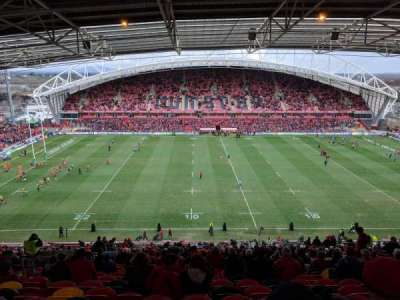 Thomond Park, section: 217, row: LL, seat: 145