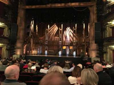 CIBC Theatre, section: Orchestra C, row: R, seat: 113