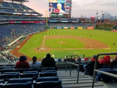 Citizens bank park  section 218