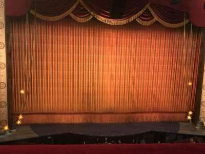 Imperial Theatre, section: Center Front Mezzanine, row: A, seat: 3