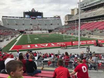Ohio Stadium, section: 6a, row: 7, seat: 4
