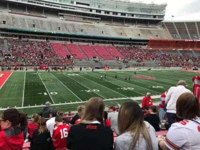 Ohio Stadium, section: 26a, row: 8, seat: 10