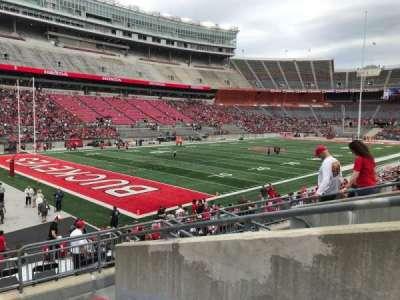 Ohio Stadium, section: 30a, row: 7, seat: 2