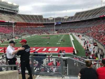 Ohio Stadium, section: 36a, row: 6, seat: 19