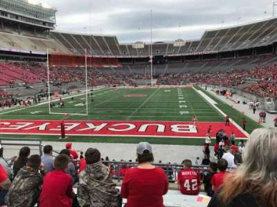 Ohio Stadium, section: 38a, row: 9, seat: 13