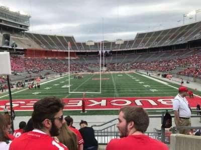 Ohio Stadium, section: 39a, row: 8, seat: 1