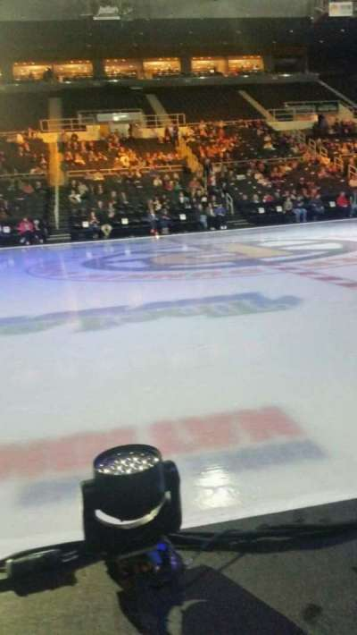 Dunkin' Donuts Center, section: 122, row: CC, seat: 16