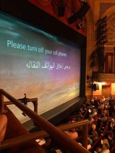 Ethel Barrymore Theatre section Mezzanine Box