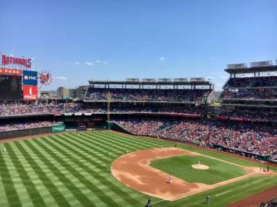 Nationals Park, section: 304, row: A, seat: 4