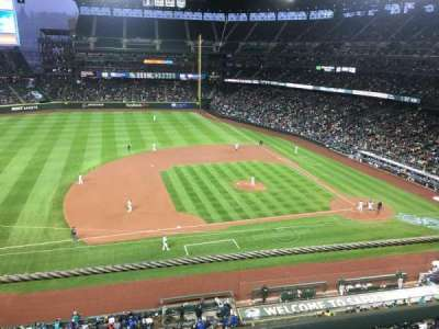 Safeco Field, section: 339, row: 1, seat: 21