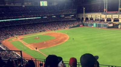 Minute Maid Park, section: 333, row: 4, seat: 6