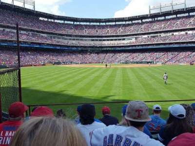 Globe Life Park in Arlington, section: 50, row: 6, seat: 3