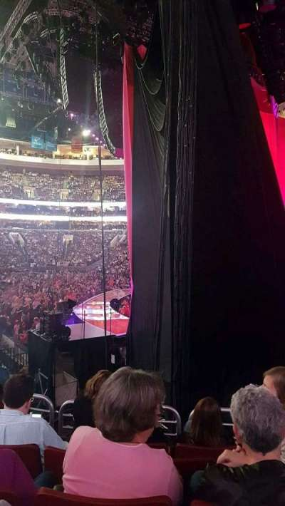 Wells Fargo Center, section: 117, row: 15, seat: 8