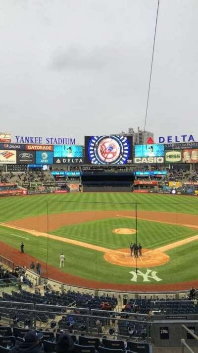 Yankee Stadium section 220c