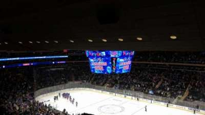 Madison Square Garden, section: 214, row: 13, seat: 8