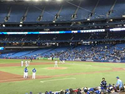 Rogers Centre, section: 128L, row: 20, seat: 103