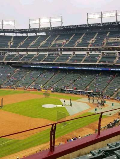 Globe Life Park in Arlington, section: 215, row: 4, seat: 3