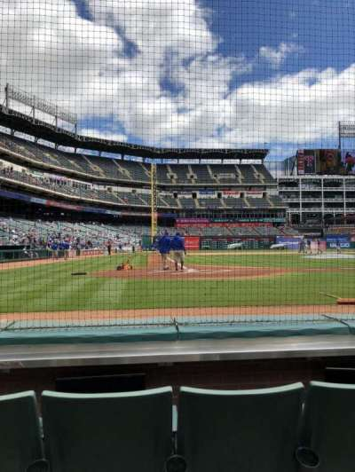 Globe Life Park in Arlington, section: 30, row: C, seat: 4