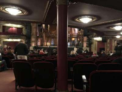 CIBC Theatre, section: Orchestra R, row: X, seat: 4