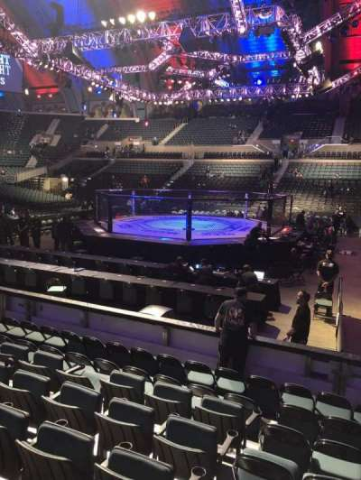 Boardwalk Hall, section: 121, row: HH, seat: 12