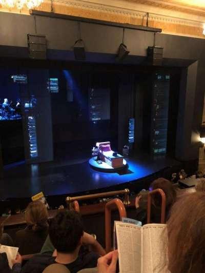 Music Box Theatre, section: Front Mezzanine, row: D, seat: 3