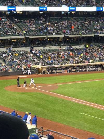 Miller Park, section: 210, row: 12