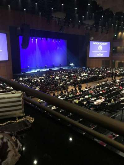 The Theater at MGM National Harbor, section: 201, row: 1, seat: 18