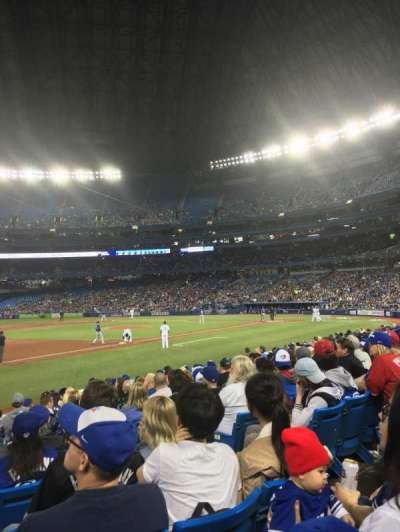 Rogers Centre, section: 129L, row: 13, seat: 105