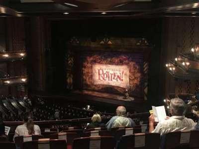 Walt Disney Theatre - Dr. Phillips Center, section: Mezrgt, row: H, seat: 28
