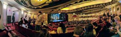 Cadillac Palace Theater, section: DCIR-L, row: NN, seat: 15