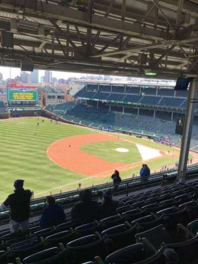 Wrigley Field, section: 506, row: 9, seat: 3