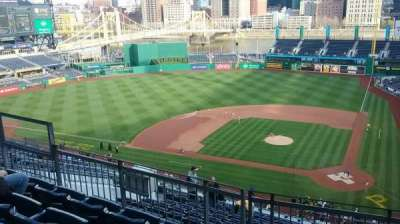 PNC Park, section: 320, row: G, seat: 8