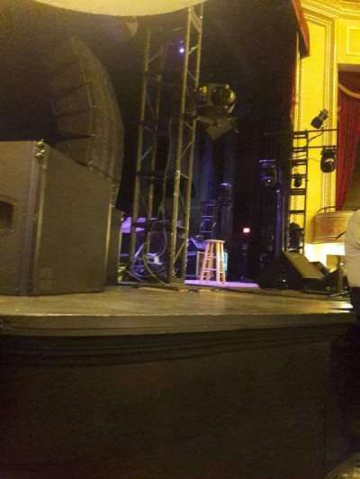 Folly Theater, section: Orchestra Left, row: A, seat: 4