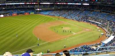 Rogers Centre, section: 533L, row: 5, seat: 103