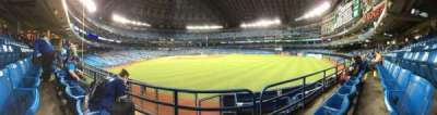 Rogers Centre, section: 106R, row: 2, seat: 9