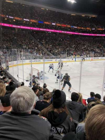 T-Mobile Arena, section: 12, row: G, seat: 10