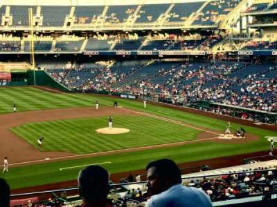 Nationals Park, section: 207, row: E, seat: 18