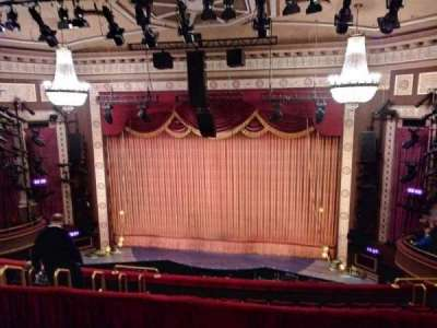 Imperial Theatre, section: Rear Mezzanine, row: D, seat: 1