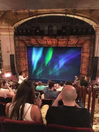 St. James Theatre, section: Mez, row: O, seat: 101