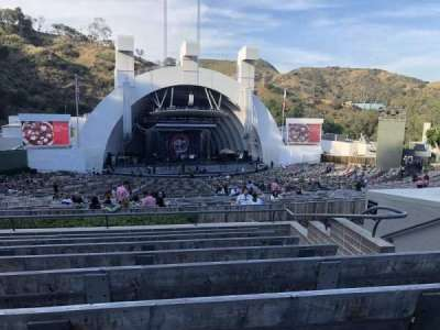 Hollywood Bowl, section: J2, row: 8, seat: 11