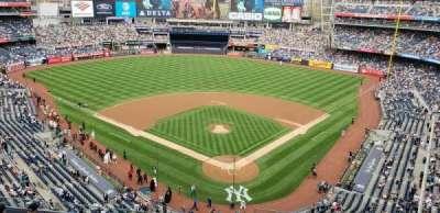 Yankee Stadium, section: 320c, row: W, seat: 1