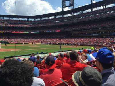 Busch Stadium, section: 158, row: 2, seat: 11