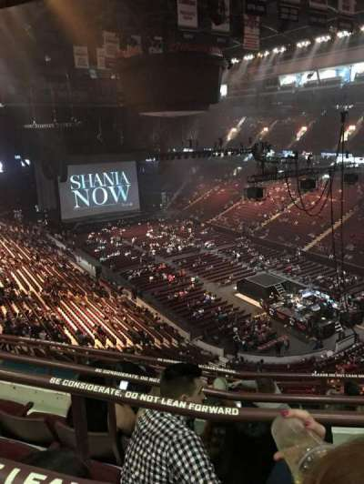Rogers Arena, section: 318, row: 9, seat: 8