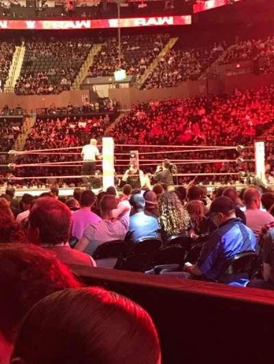 Old Nassau Veterans Memorial Coliseum, section: 1, row: 1, seat: 6